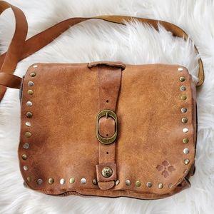 |Patricia Nash| Mantova Studded Crossbody Bag
